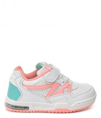 Buty American Club ES12 białe/różowe