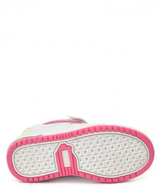 Buty dziecięce American ES12/19/20 białe-miętowe