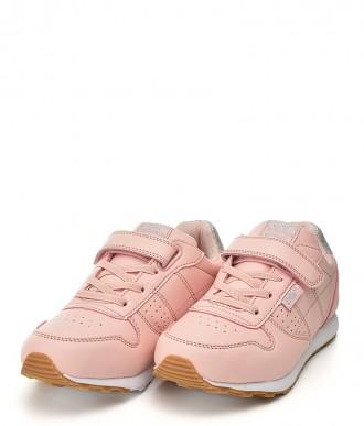 Buty dziecięce American ES06 różowy-srebrny