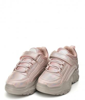 Buty dziecięce American A-B006 róż