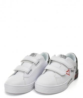 Buty American ES05 białe-czarne