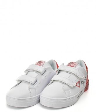 Buty American ES05 białe-czerwone
