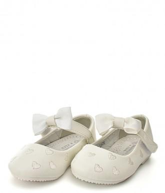 baleriny na dziewczynkę American Club -GC23/20 białe