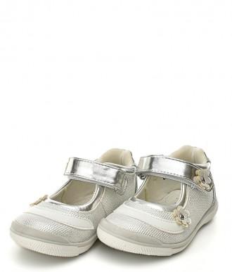 Buty American  Club półbut na dziewczynkę GC05/20 srebrne