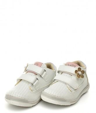 Buty American Club -Trzewiki  na dziewczynkę GC16/20 białe