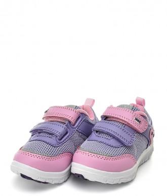 Buty na dziewczynkę American Club -sportowe ES23 fioletowe / różowe