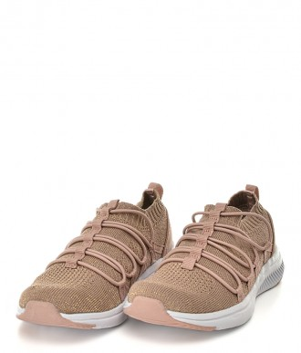 Buty American Club  -Sportowe na dziewczynka HA15/19 różowe